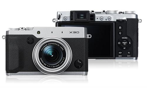 Máy Ảnh Fujifilm X30 (Bạc)