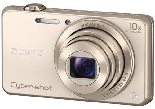 Máy Ảnh Sony DSC WX220 (Vàng)