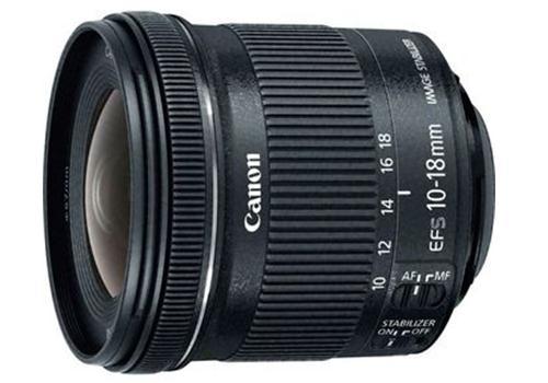 Ống kính Canon EF-S10-18mm F/4.5-5.6 IS STM (Hàng nhập khẩu)