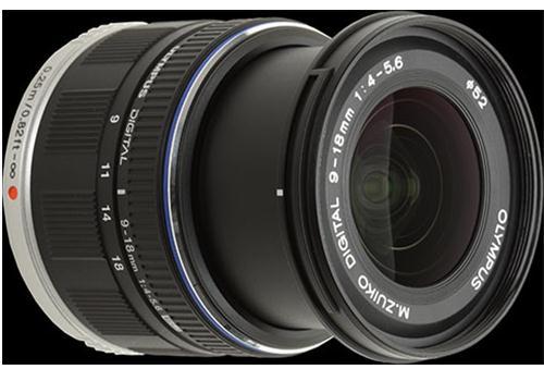 Ống Kính Olympus M.Zuiko Digital ED 9-18mm F4.0 -5.6