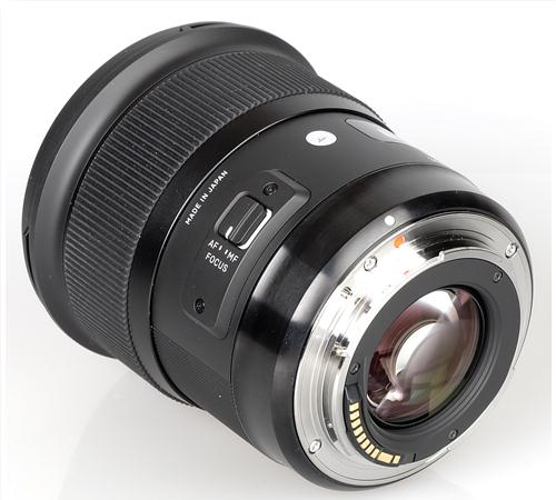 Ống Kính Sigma 35mm f/1.4 DG HSM ART for Nikon (Hàng nhập khẩu)