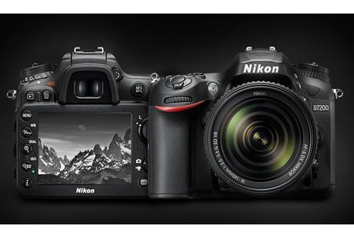 Máy Ảnh Nikon D7200 kit 18-55 VR II (Hàng nhập khẩu)