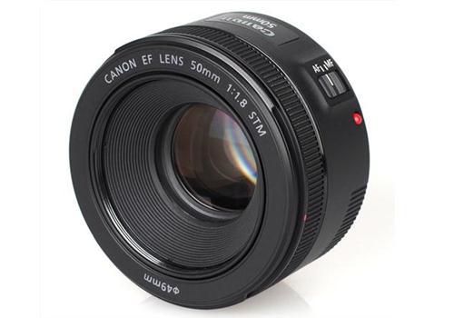 Ống kính Canon EF50mm F/1.8 STM - Hàng nhập khẩu