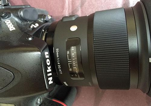 Ống Kính Sigma 50mm F1.4 DG HSM for Nikon (Hàng Nhập khẩu)