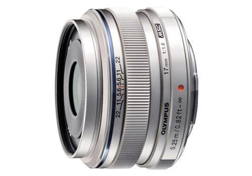 Ống kính Olympus M.Zuiko Digital ED 17mm F1.8 (Bạc)