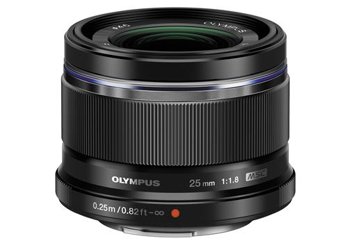 Ống kính Olympus M.Zuiko Digital ED 25mm F1.8 (Đen)