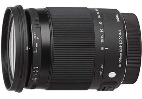 Sigma 18-300mm f/3.5-6.3 DC MACRO OS HSM C For Nikon