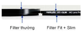 Kính lọc Marumi Fit & Slim Lens Protect 37mm