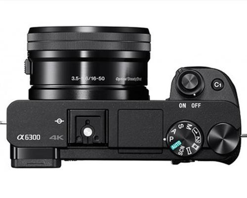 Máy Ảnh Sony Alpha A6300 (ILCE-6300) KIT FE 50mm F1.8 (SEL50F18F) (Đen)