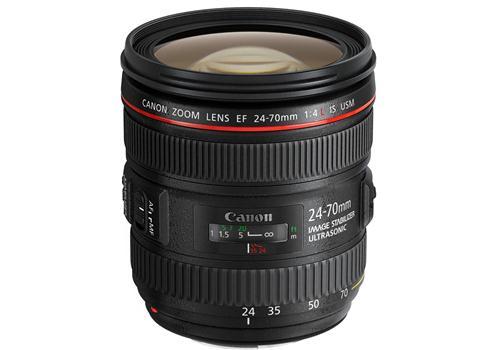 Ống Kính Canon EF 24-70mm F4 L IS USM có thiết kế đẹp mắt