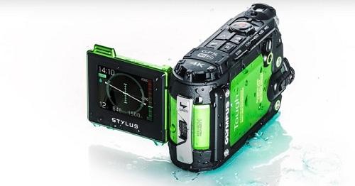 Máy quay hành động Olympus TG-Tracker (Xanh Lá)