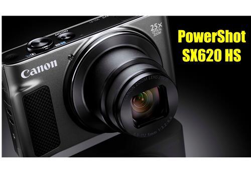 Máy Ảnh Canon Powershot SX620 HS (Đen, HÀNG NHẬP KHẨU)