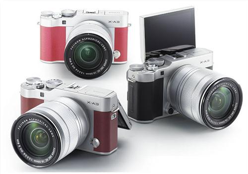 Máy Ảnh Fujifilm X-A3 Kit XF 27mm F2.8 (Hồng)
