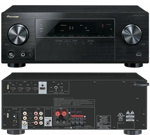 Amply AV Đa Kênh Pioneer VSX-824-K
