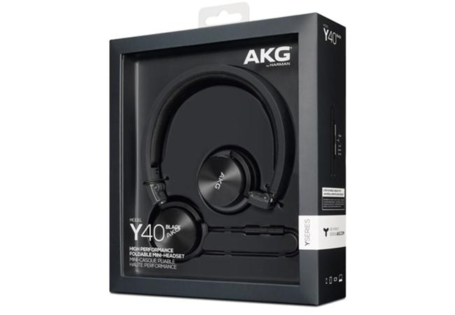 Tai Nghe AKG Y40 (Đen)