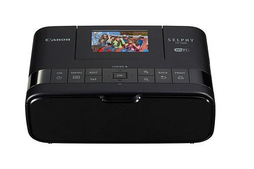 Máy In Ảnh Canon Selphy CP1200 (Kết nối Wi-Fi, Màu Đen)