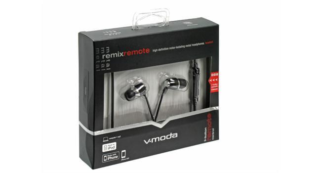 Tai nghe V-MODA Remix Remote (Đen)