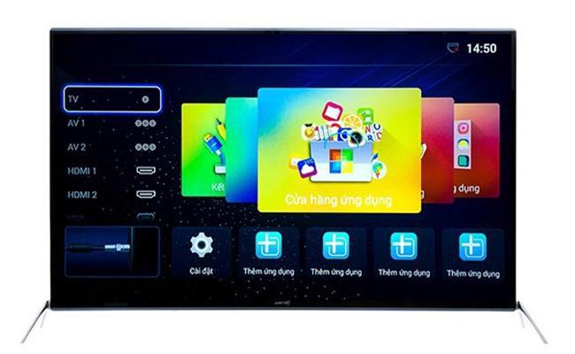 Tivi ASANZO 50SK900 (Full HD, Internet, Kính Cường Lực, 50 inch)