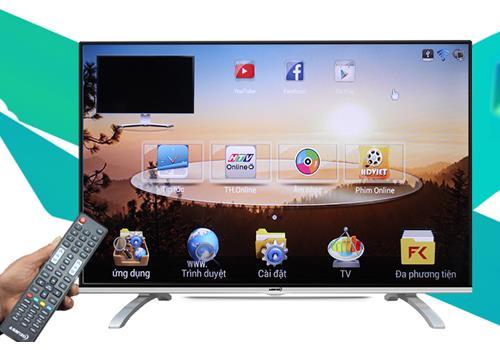 Tivi ASANZO 55SK900 (Full HD, Internet, Kính Cường Lực, 55 inch)