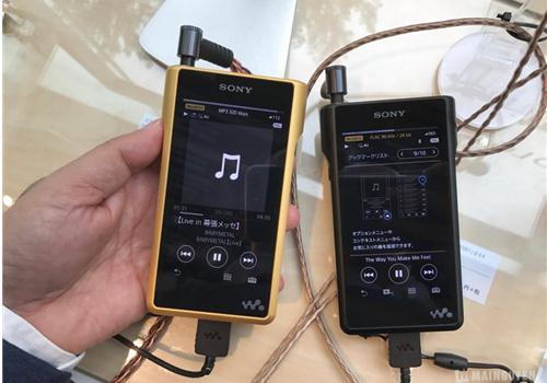 Máy Nghe Nhạc Sony NW-WM1A (Vàng)