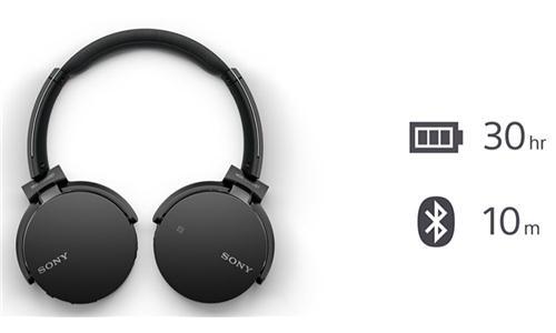 Tai Nghe Sony Bluethooth MDR - XB650BT (Đen)
