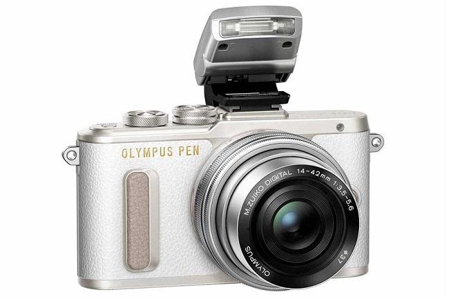 Máy Ảnh Olympus PEN E-PL8 Kit 14-42mm f/3.5-5.6 EZ (Trắng)