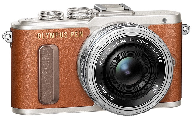 Máy Ảnh Olympus PEN E-PL8 Kit 14-42mm f/3.5-5.6 EZ (Nâu)