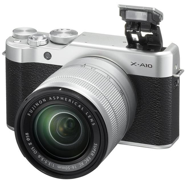 Máy Ảnh Fujifilm X-A10 Kit XF 27mm F2.8 (Bạc)