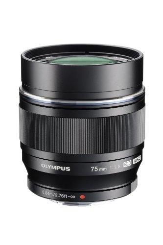 Ống Kính Olympus M.Zuiko Digital ED 75mm F1.8 (Đen)