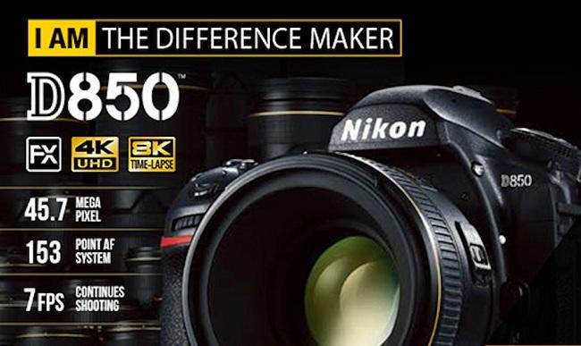 Máy Ảnh Nikon D850