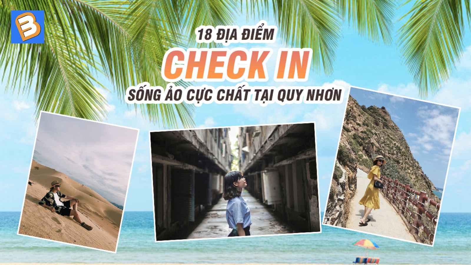 18 địa điểm check in sống ảo cực chất tạiQuy Nhơn