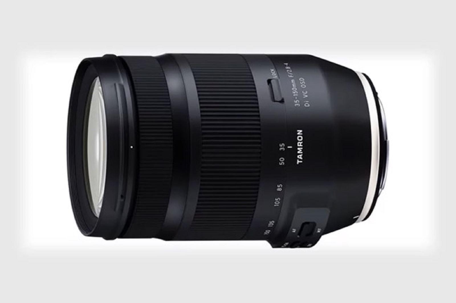 Tamron ra mắt ống kính35-150mm f2.8-4 cho máy ảnh DSLR Fullframe Canon và Nikon