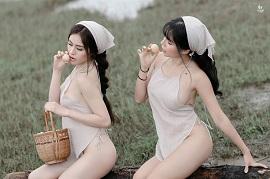 Bộ ảnh 'mát mẻ' tại Tuyệt Tình cốc Đà Lạt gây dậy sóng mạng xã hội những ngày qua