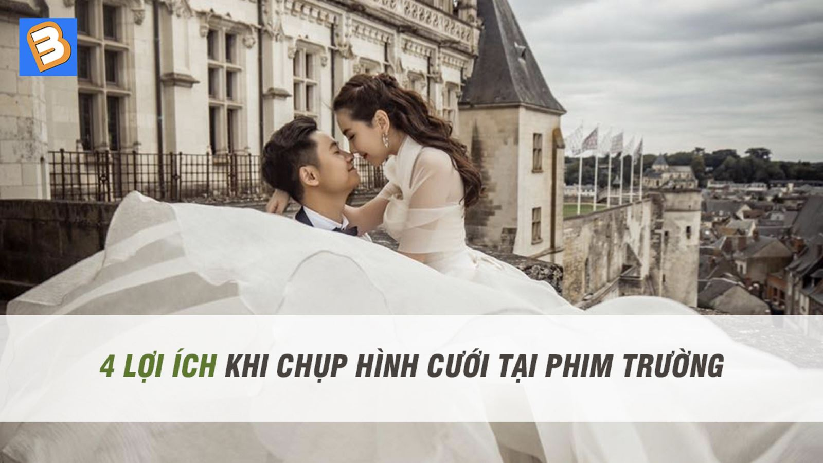 4 lợi ích khi chụp hình cướitại phim trường