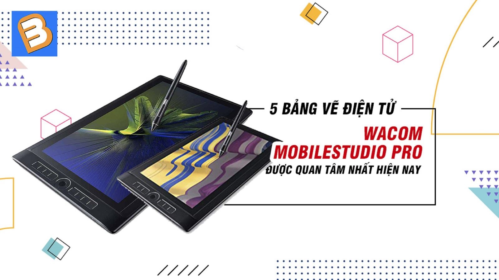 5 bảng vẽ điện tử Wacom MobileStudio Pro được quan tâmnhất hiện nay