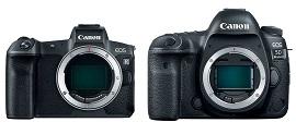 So sánh Canon EOS R vàCanon EOS 5D Mark IV