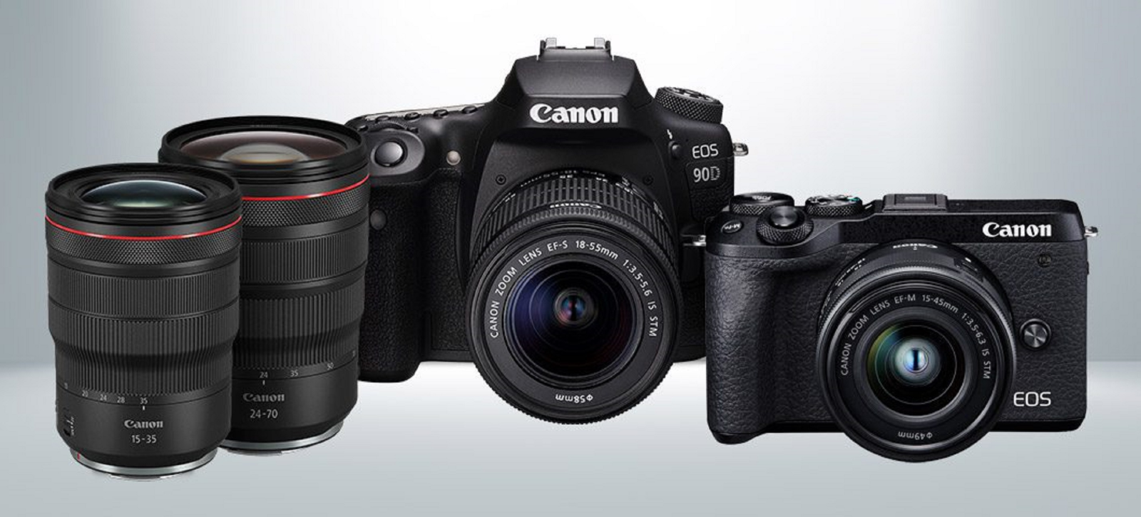 Canon chính thức trình làng bộ đôi máy ảnh DSLR EOS 90D và mirrorless EOS M6 Mark II
