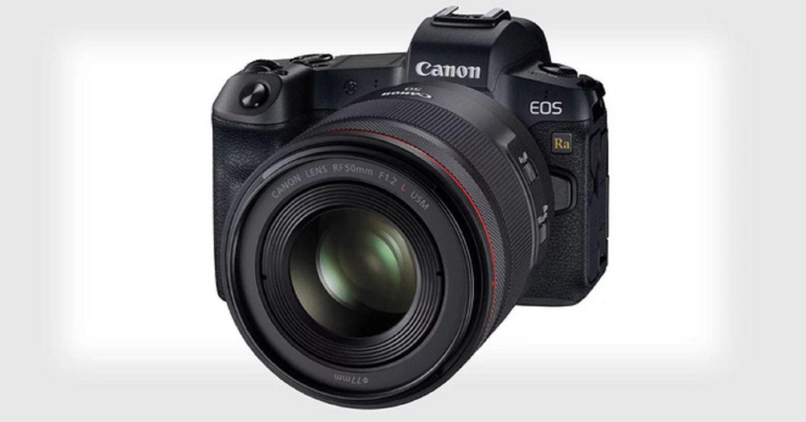 Canon lặng lẽra mắt EOS Ra:máy ảnh chuyên chụp thiên văn