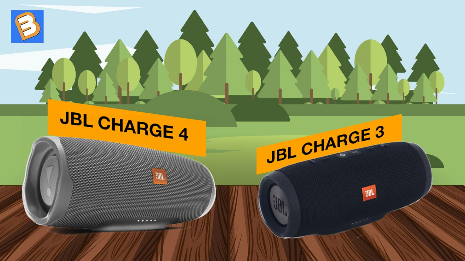 ChọnJBL Charge 4 hay Charge 3