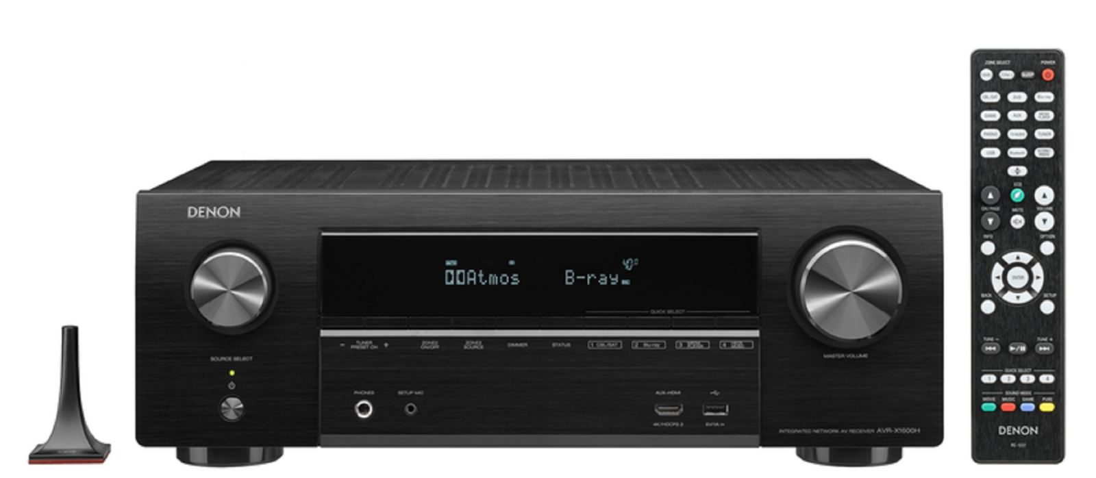 Denon ra mắt2 AV Receiver mới:AVR-X2600H và AVR-X1600H