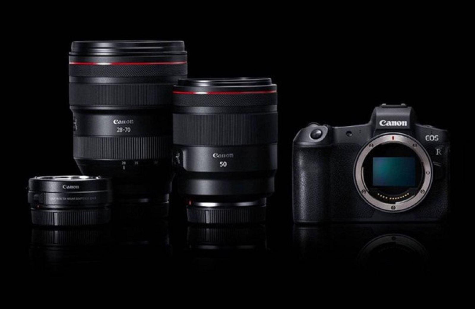 Canon khởi động hệ thống ống kính mới : dòng ống kính RF dành riêng cho Canon EOS R