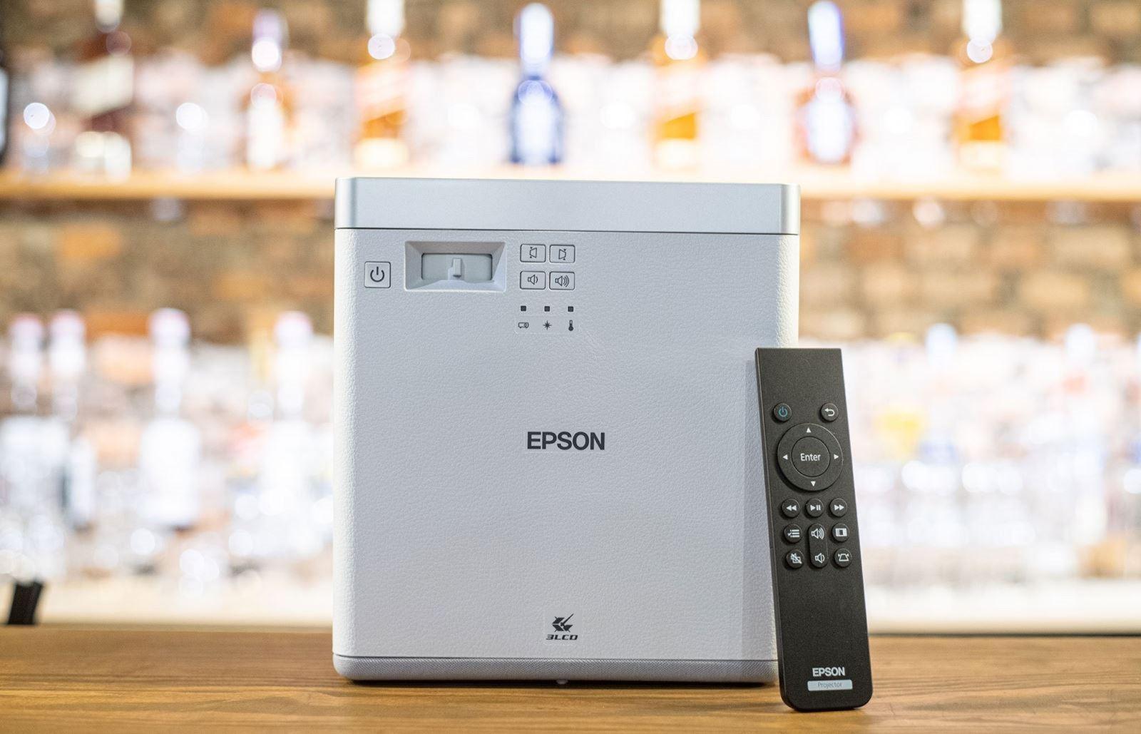 Epson chính thức ra mắtEF-100: Máy chiếu laser 3LCD nhỏ nhất thế giới