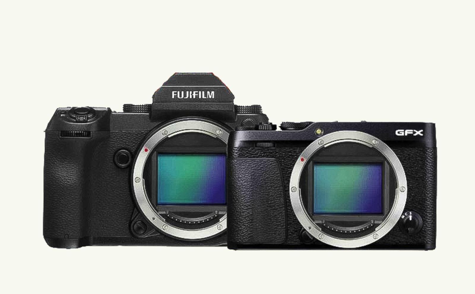 Fujifilm sẽ cho ra mắt dòng mirroless medium format có tên gọi GFX 50R và GFX 100S