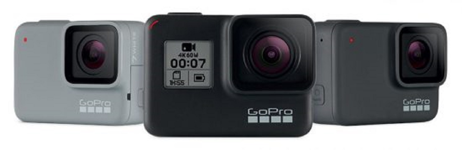 GoPro Hero 7 chính thức ra mắt với ba phiên bản: Black, White và Silver