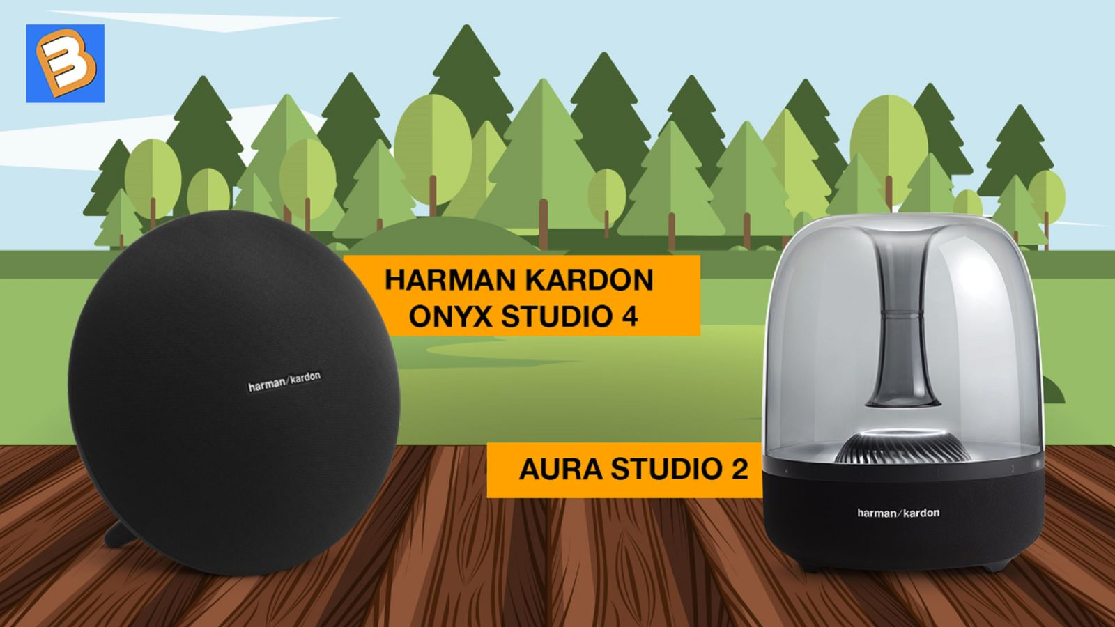 So sánh Harman Kardon Onyx Studio 4 và Aura Studio 2
