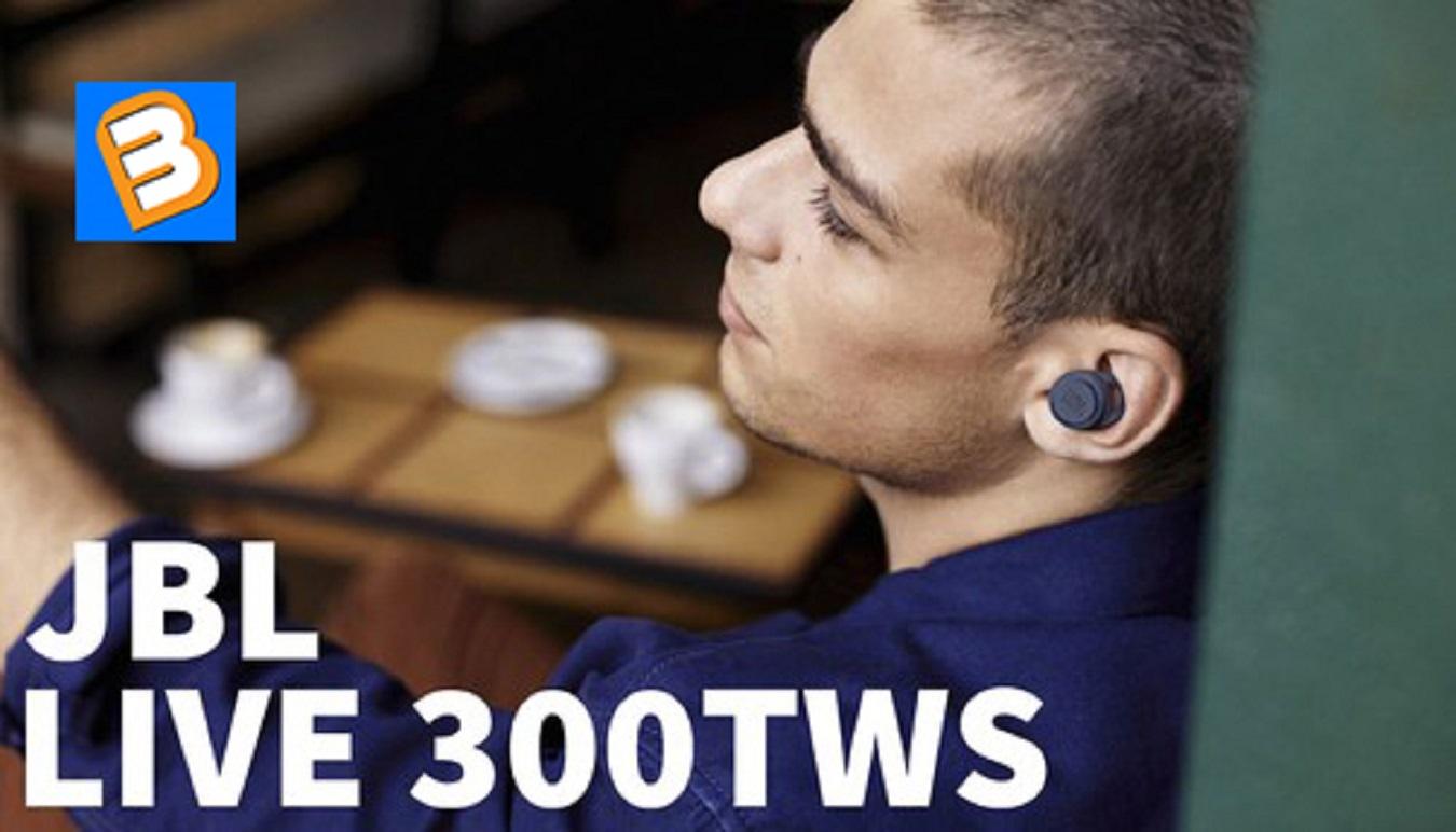 JBL giới thiệu mẫu tai nghetrue wirelessLive 300TWS
