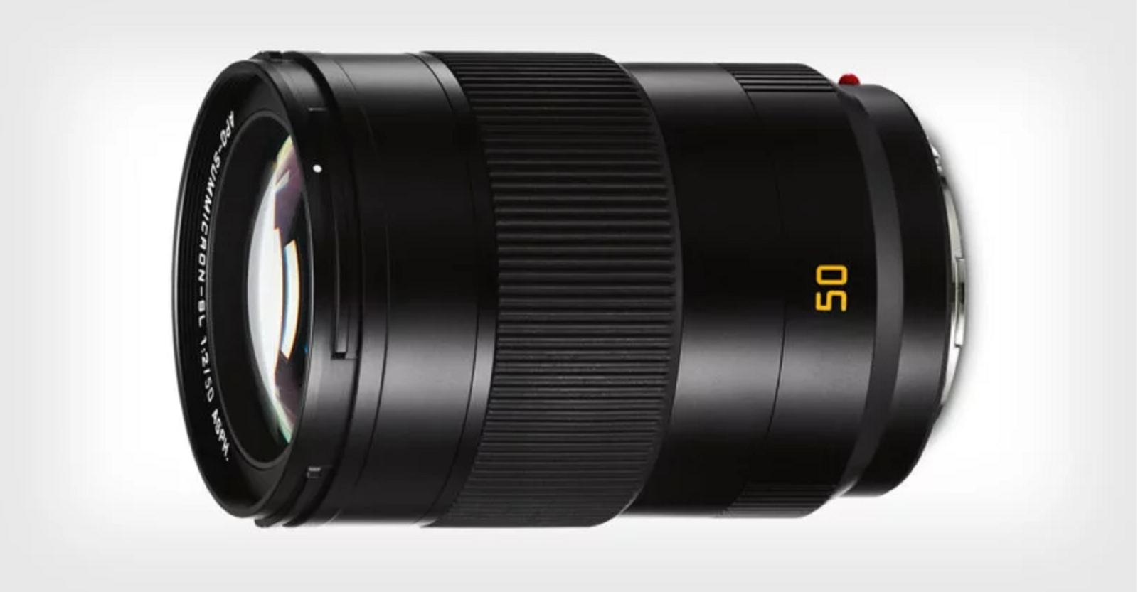 Leica ra mắtống kính APO-Summicron-SL 50mm F2 ASPH ngàm L