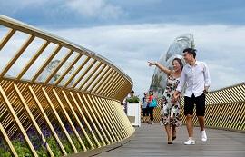 Cầu Vàng Đà Nẵng-địa điểm 'check-in' không thể bỏ qua của giới trẻ