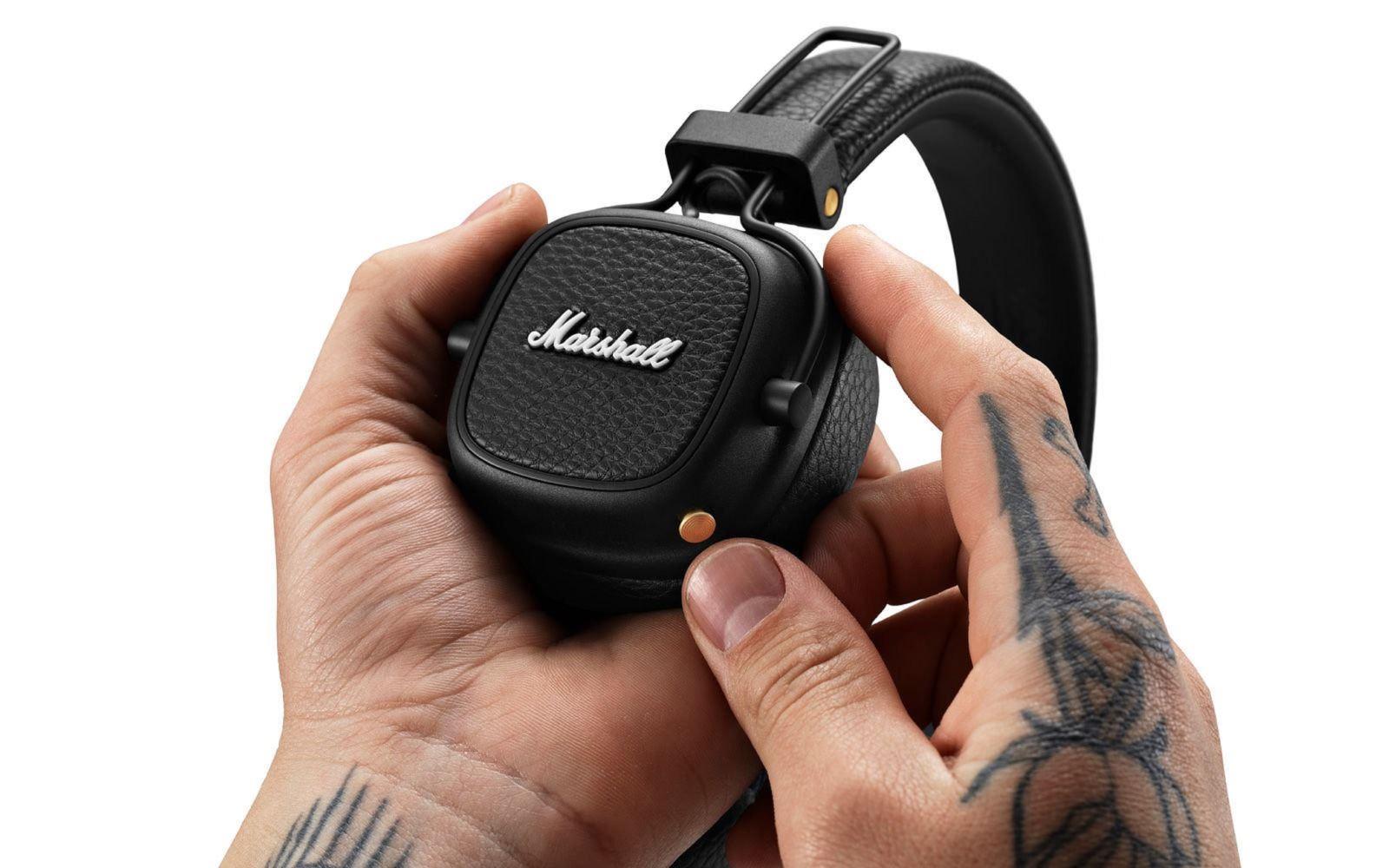 Marshall ra mắt tai nghe không dây Major III Voice, tích hợp trợ lý ảo, pin 'trâu' 60 giờ