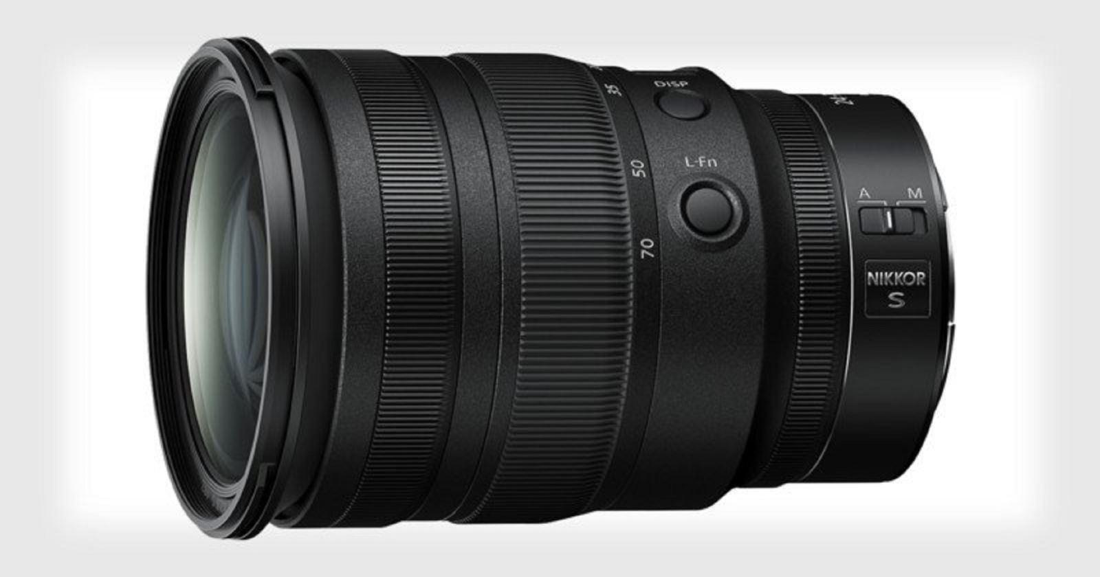 Nikon ra mắt ống kính Nikkor Z 24-70mm f/2.8S